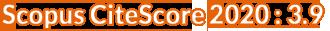 Scopus CiteScore 2020 : 3.9